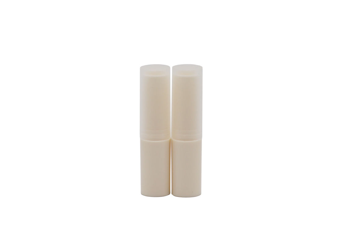 White 4g Abs Tube Lip Balm Tube Packaging Eco Friendly Sgs Passed